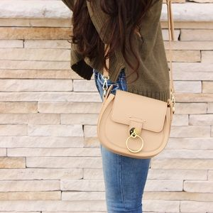 Nude Crossbody Handbag
